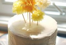 cake and party decorations