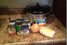 My new friend the crockpot / by Angie White