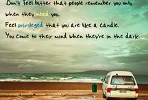 Words of wisdom and weird stuff like love and major dislikes! / Inspirational Quotes and random nonsense  / by Rachel Reed