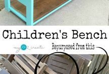 Benches / Inspiration for awesome benches!