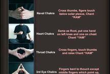 Chakra hands positures & sounds