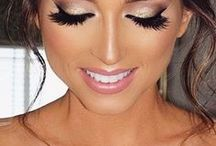 Wedding makeup and accessories