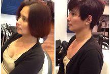 Hair cuts created by A'Court