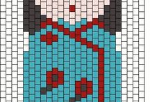 Perles : Tissage Peyote / Brick stitch