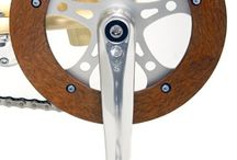 Crank / Bicycle cranks and chain sets along with related objects in in both technical and artistic manner.