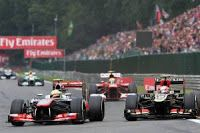 Sergio Perez versus Romain Grosjean