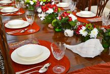 Tablescapes / A collection of all the beautiful table decorations from our Children's Etiquette Certification Classes.