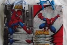 Jamies spiderman party