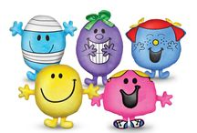 "PPW Toys Mr. Men Little Miss Plush- RETIRED / Mr. Men Little Miss plush characters from the classic Roger Hargreaves children's books. Colorful designer 12"" and 4"" plush are super-soft and include a custom-stitched character signature on their backs."