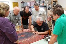 Master Rug Repair Series / Pictures from classes taught by Robert Mann for the Master Rug Repair Seriers