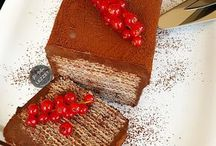 Gofretli çikolatalı pasta