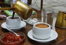 """Καφενεία - """" Kafeneia"""",  Greek traditional cafe."""