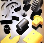 CNC koneistus - CNC machining / CNC Koneistettuja muoviosia. CNC machined plastic parts.