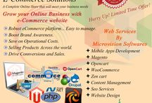 eCommerce Solutions / Microvision Softwares offer affordable full range eCommerce web services.