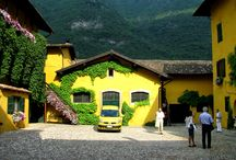 Tenuta San Leonardo / Visita alla tenuta San Leonardo del Marchese Carlo Guerrieri Gonzaga, a Borghetto nel comune di Avio. In Vallagarina, nel Trentino meridionale