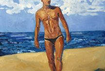Paintings by Steven Corry / Paintings by modern artist Steven Corry. All his artworks about men's beauty