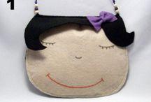 bolsas e carteiras criativas