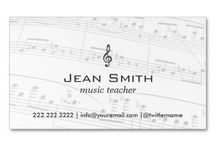 Business Cards : Music