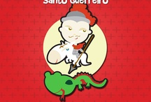 Santos / Ilustrações de santos como você nunca viu!