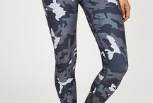 JUJA - Camo / Seriously fun camo for working out - great for pilates, barre, or any adventure for weekend warriors. We rotate colors regularly so if you love it, grab it.