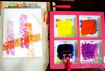 art journaling techniques / by Lori West