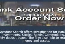 Finding Bank Accounts for Deceased / Bank Account search is a government approved private investigator firm in the USA.