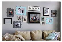 Gallery Walls / DIY Gallery Wall Ideas