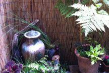 small garden/patio