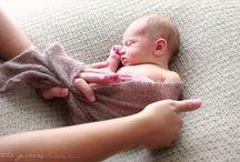 Newborn posing techniques