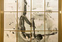 """I Love Art: """"DuDuDu... in cerca di guai"""" - opere piccole / Il progetto """"I LOVE ART"""", finanziato dalla Regione Friuli Venezia Giulia con L.R. 12/2007, art. 15 c4, e dalla Comunità Montana del Friuli Occidentale, ha preso vita nel 2012 ed ha coinvolto, promosso e valorizzato giovani artisti locali e nazionali.  Questa bacheca rappresenta il catalogo virtuale delle opere che hanno partecipato al Concorso Nazionale d'Arte """"Du Du Du... in cerca di guai"""", previsto all'interno di questo progetto."""