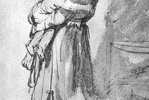 Old master's sketches / by Karolina Nilsson