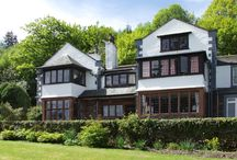 Ladstock Hall, Thornthwaite, Nr Keswick Lakes Cottage Holiday / Ladstock Hall is a stunning Lake District home from home, 5 bedrooms and 4 bathrooms, standing in its own grounds with original features including open fires, leaded windows and oak panelling