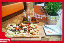 Brunchy Pizza / Discover Naturall Italian pizzas in a cozy and modern environment! Brunchy Risto in Smartpark, Spata, Attiki, Greece