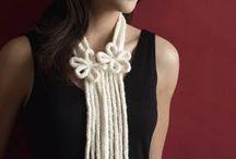 вязание  шнур