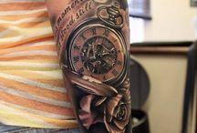 tatto reloj