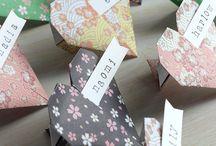 wedding origami ideas