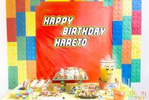LEGO BLOCK Birthday Party