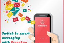 Pinaakyo- free mails and messages / Pinaakyo, a unique application platform works ubiquitously for sending emails and messages by only using your mobile number. Install Pinaakyo today for a hassle-free experience and share voice messages, texts, photos, videos with a single click without thinking of the limits. Let's make a network of your loved ones with Pinaakyo and enjoy the power of holding privacy provided by us. Increase your social life with unlimited contacts and stay connected with them.