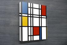Modern Art Canvas Prints