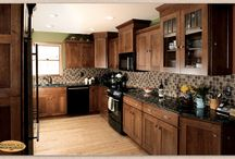 Mission Themed Home - Showplace Cabinets / Pendleton SPW Door Style