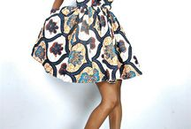 Africa Inspired / African prints now have a global expression. We love!