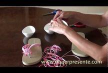 Sandalias decoradas videos / by Regina Handal