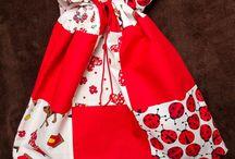 Kindergarten patchwork bags