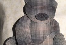 Pernilles babyquilt / Baby quilt 44 x 46 in made by Gunnhild H Leere