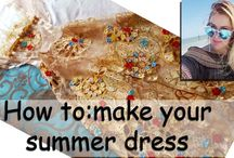 How to make a simple summer dress