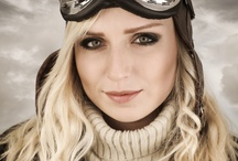 Vintage Aviation, Retro Fashion / Who can resist a pilot or aviatrix dressed for flying?