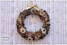 Wreaths - Corone fuori porta / wreaths, corono fuori porta, home decor,