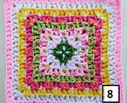 MAYFAIRY'S PINK BAWL AFGHAN