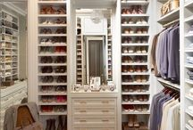 Walk in closet ideas / Everyone's dream is to have a nice closet in their home.