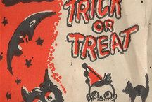 Trick or Treat bags / A collection of vintage and new trick or treat bags for children.